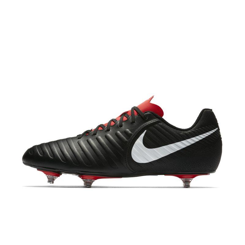 Scarpa da calcio per terreni morbidi Nike Tiempo Legend VII Club - Nero