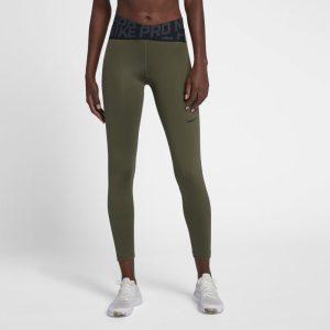 Tights a vita alta Nike Pro Intertwist - Donna - Verde