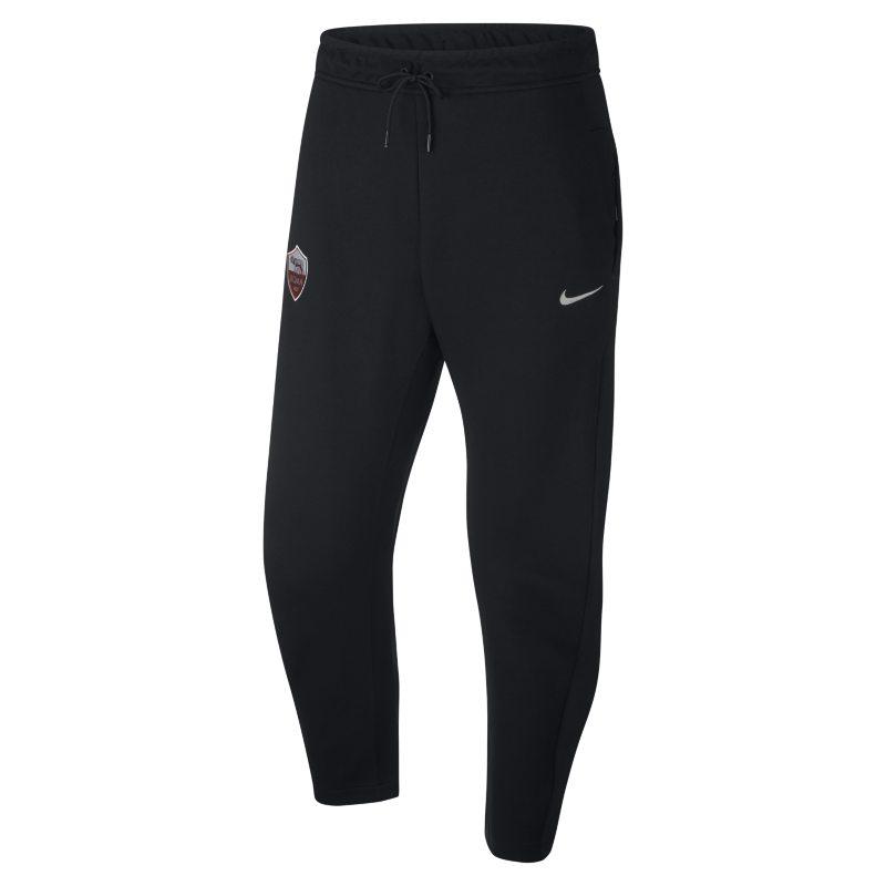 Pantaloni A.S. Roma Tech Fleece - Uomo - Nero