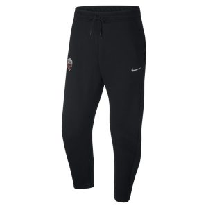 Pantaloni A.S. Roma Tech Fleece - Uomo - Nero