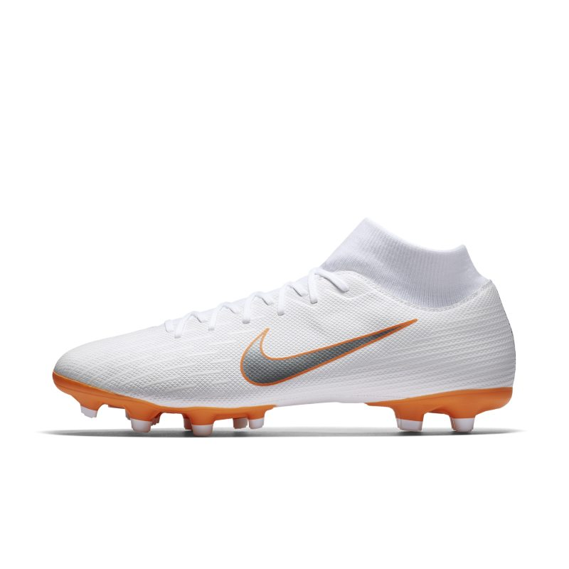 Scarpa da calcio multiterreno Nike Mercurial Superfly VI Academy MG Just Do It - Bianco