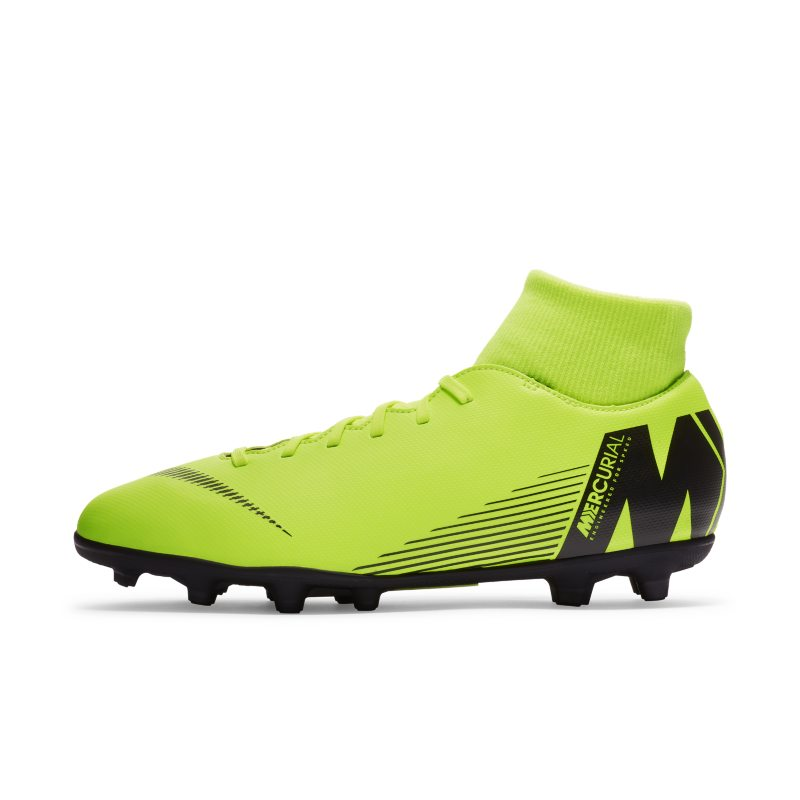 Scarpa da calcio multiterreno Nike Mercurial Superfly VI Club - Giallo