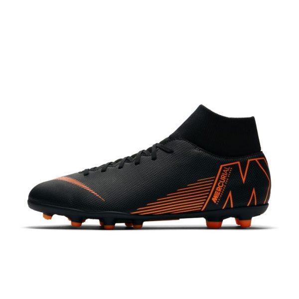 Scarpa da calcio multiterreno Nike Mercurial Superfly VI Club - Nero