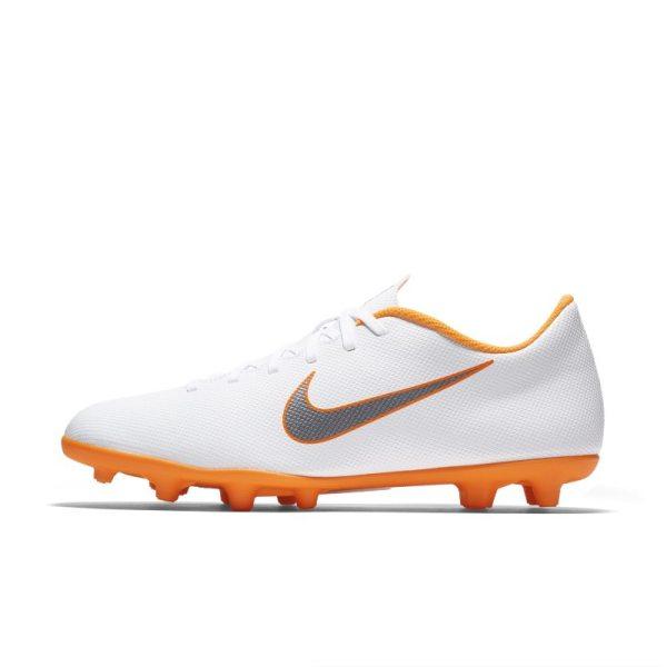 Scarpa da calcio multiterreno Nike Mercurial Vapor XII Club Just Do It MG - Bianco