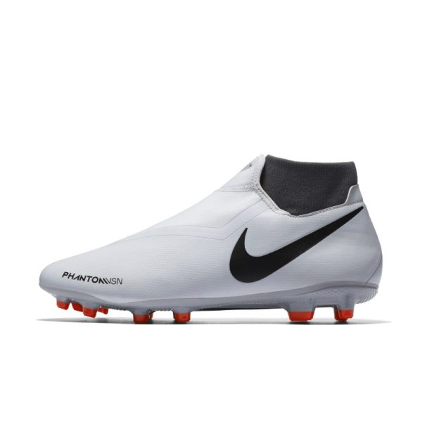 Scarpa da calcio multiterreno Nike Phantom Vision Academy Dynamic Fit - Silver