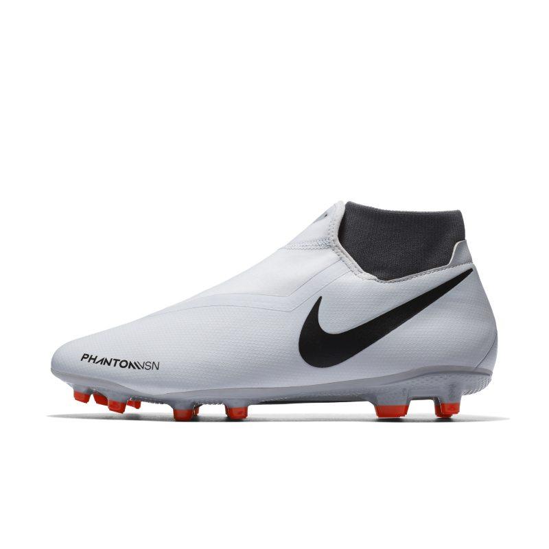 Scarpa da calcio multiterreno Nike Phantom Vision Academy Dynamic Fit - Silver