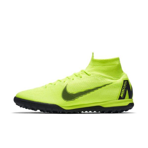 Scarpa da calcio per campi in erba sintetica Nike MercurialX Superfly 360 Elite TF - Giallo