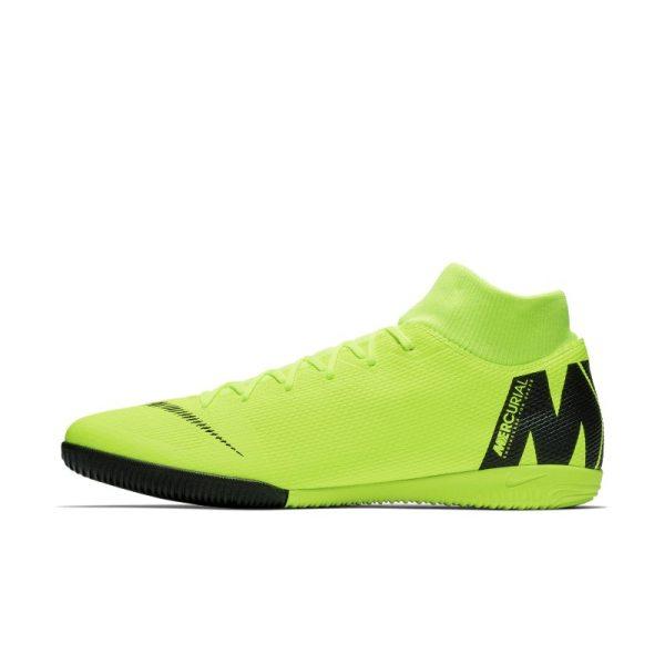 Scarpa da calcio per campi indoor Nike MercurialX Superfly VI Academy IC - Giallo