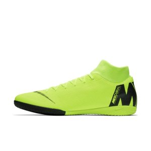 Scarpa da calcio per campi indoor Nike MercurialX Superfly VI Academy IC - Giallo