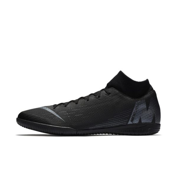Scarpa da calcio per campi indoor Nike MercurialX Superfly VI Academy IC - Nero