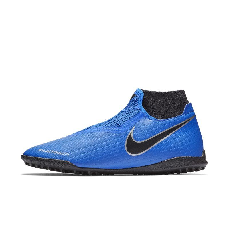 Scarpa da calcio per erba sintetica Nike Phantom Vision Academy Dynamic Fit - Blu