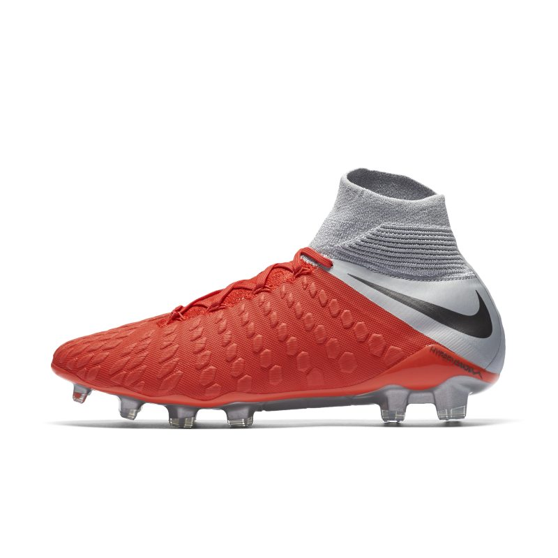 Scarpa da calcio per terreni duri Nike Hypervenom III Elite Dynamic Fit - Red