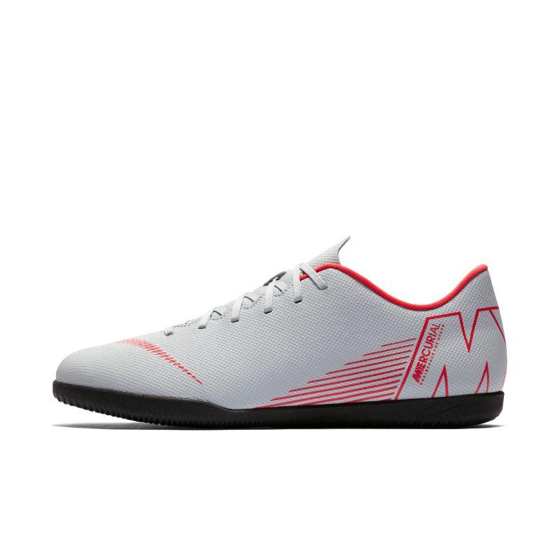 Scarpa da calcio per campi indoor Nike MercurialX Vapor XII Club IC - Grigio