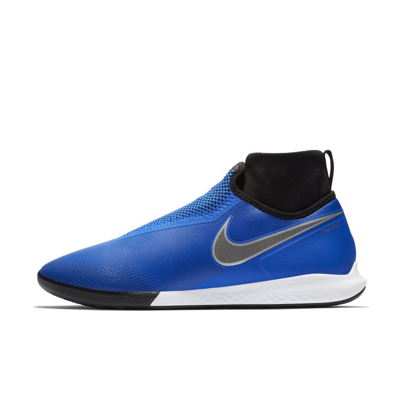 Scarpa da calcio per campo indoor/cemento Nike React Phantom Vision Pro Dynamic Fit - Blu