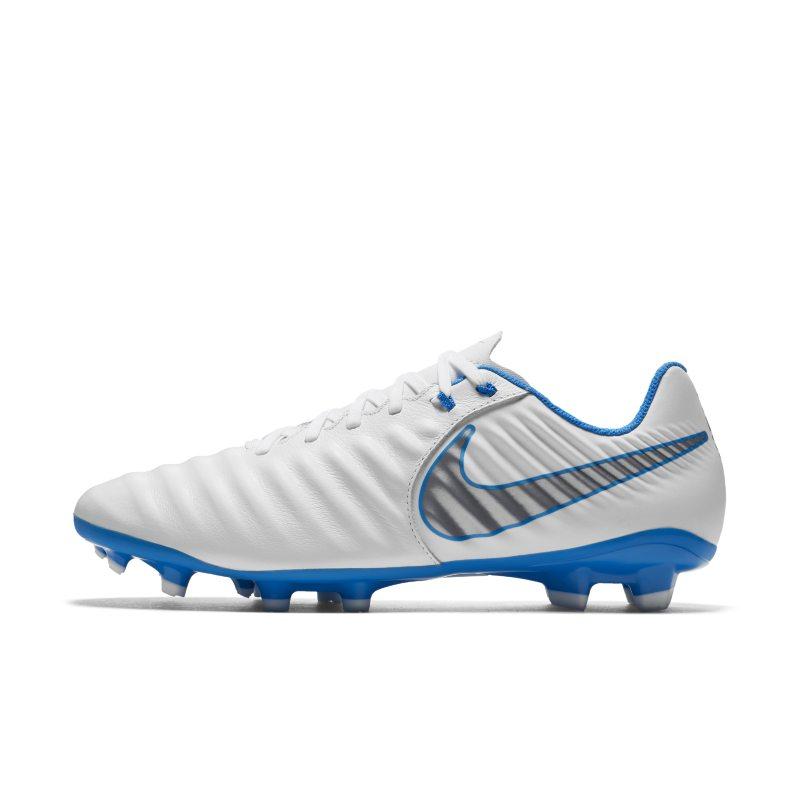 Scarpa da calcio per terreni duri Nike Tiempo Legend VII Academy Just Do It - Bianco