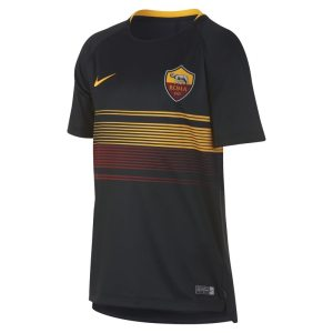 Maglia da calcio A.S. Roma Dri-FIT Squad - Ragazzi - Nero