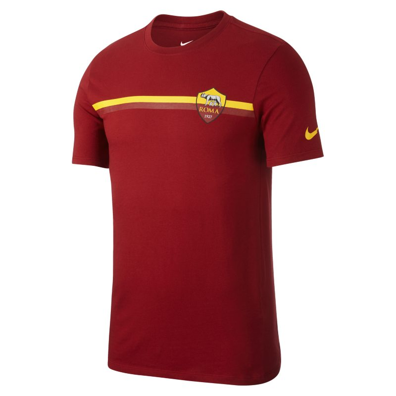 T-shirt A.S. Roma Crest - Uomo - Red