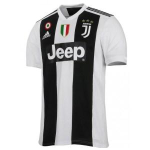 adidas - Juventus Maglia Ufficiale 2018-19 + Scudetto + Coppa Italia