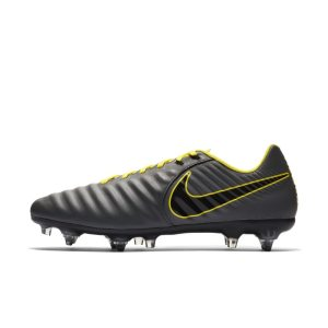 Scarpa da calcio Pro per terreni morbidi Nike Legend 7 Academy SG-Pro Anti-Clog Traction - Grigio