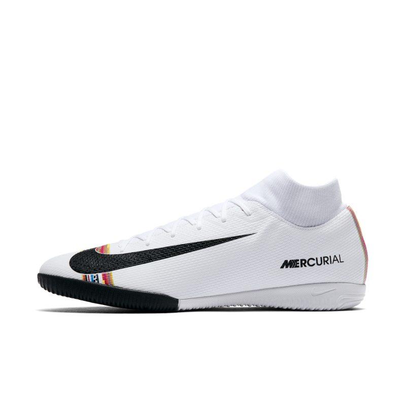 Scarpa da calcio per campi indoor/cemento Nike SuperflyX 6 Academy LVL UP IC - Bianco