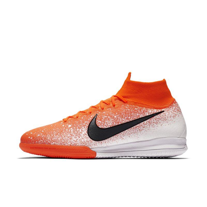 Scarpa da calcio per campo indoor/cemento Nike SuperflyX 6 Elite IC - Uomo - Arancione