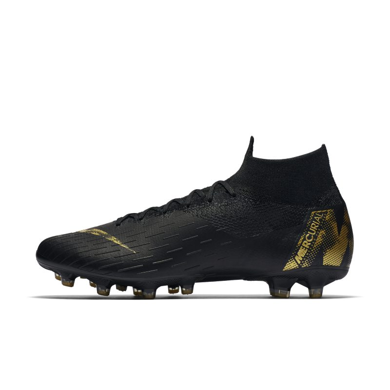 Scarpa da calcio per erba artificiale Nike Mercurial Superfly 360 Elite AG-PRO - Nero