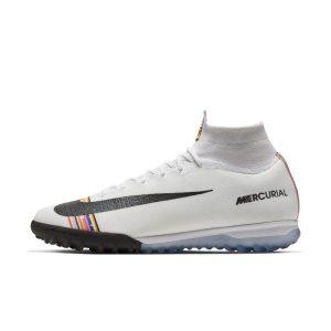 Scarpa da calcio per erba sintetica Nike SuperflyX 6 Elite LVL UP TF - Silver