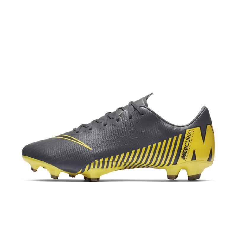 Scarpa da calcio per terreni duri Nike Vapor 12 Pro FG Game Over - Grigio