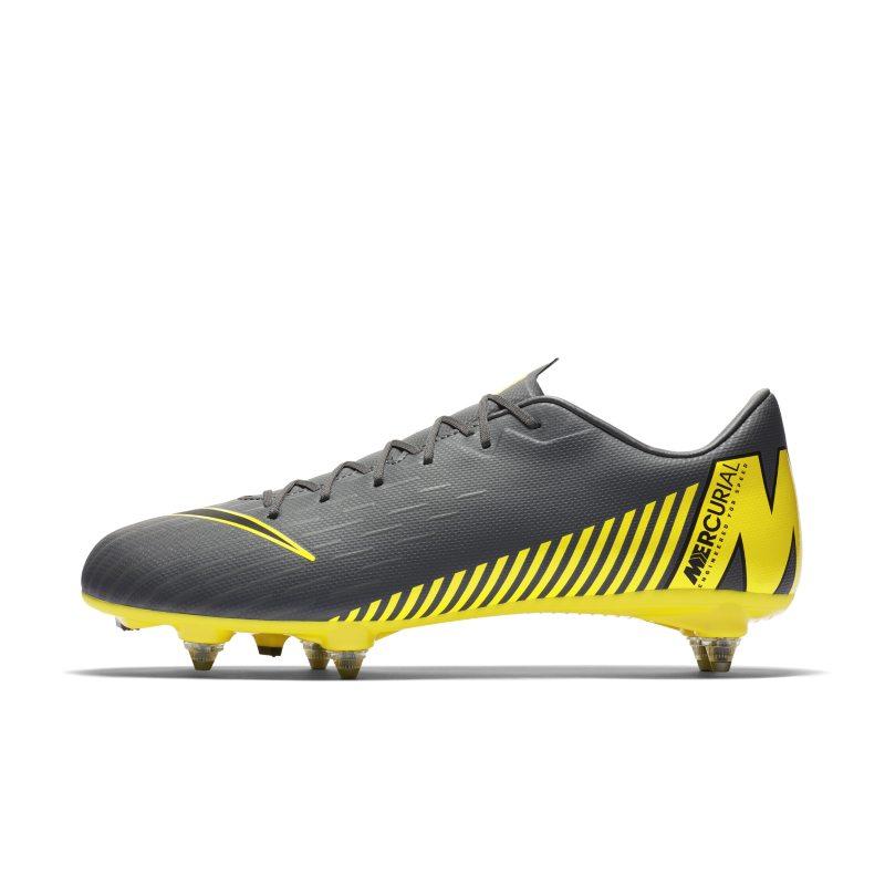 Scarpa da calcio per terreni morbidi Nike Mercurial Vapor XII Academy SG-PRO - Grigio