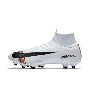 Scarpa da calcio professionale per erba artificiale Nike Superfly 6 Pro AG-Pro - Silver