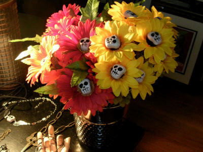 Image result for flower horror