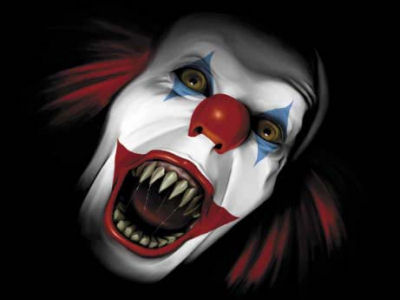 scary clowns scary website