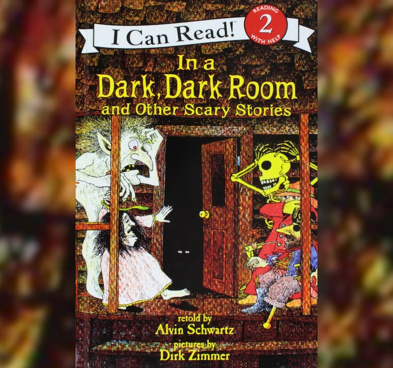 in a dark dark room