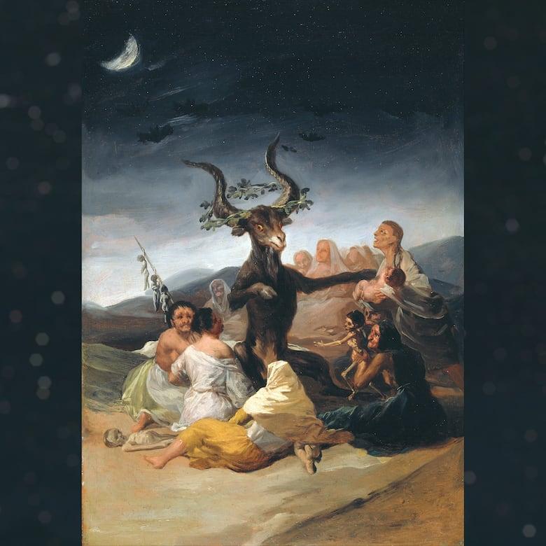 goya black paintings, witches sabbath