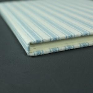 Maritimes blau weißes Adressbuch