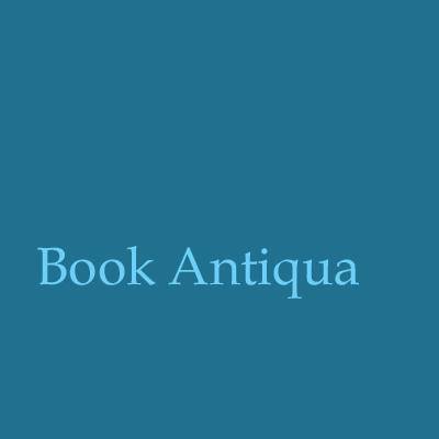 Schriftart-Book-Antiqua