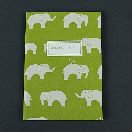 Zart-Grünes-Babytagebuch