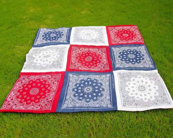 Easy Bandana Quilt patterns