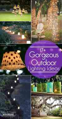 17+ Outdoor Lighting Ideas for the Garden - Scattered ...