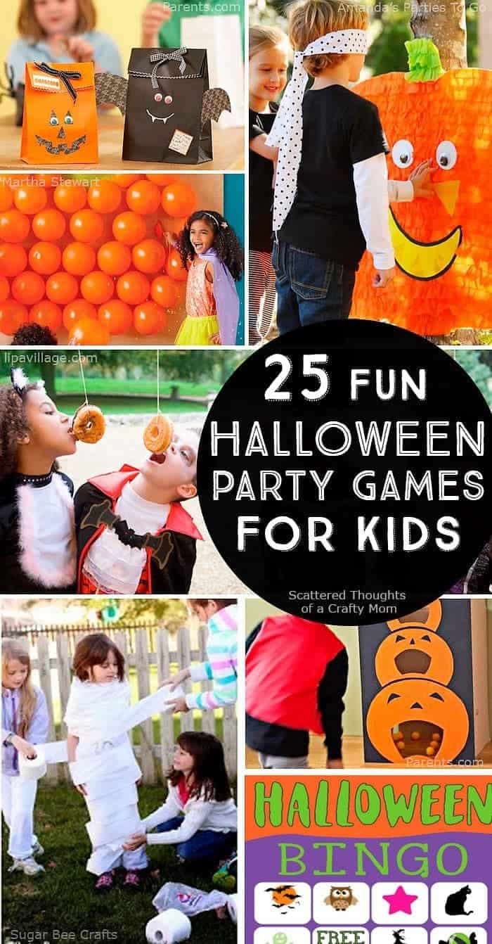 25+ Halloween Party Games for Kids (updated w/ all new games for 2020!)