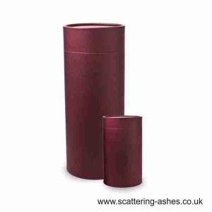 Burgundy Scatter Tubes