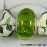 Pandora Style Charm bead - Lime Green