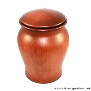 hygeco wooden urn -