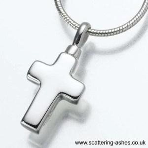 silver cross pendant sq