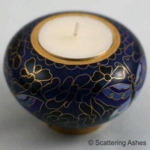 memorial candle holder keepsake urn