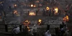 indian cremation ground