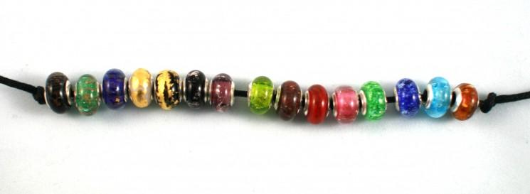 pandora ashes into glass bead