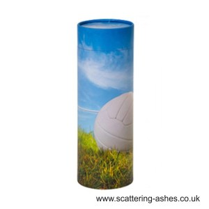 Football Scatter Tubes for scattering ashes