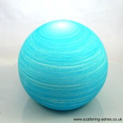 Natural floating ball urn