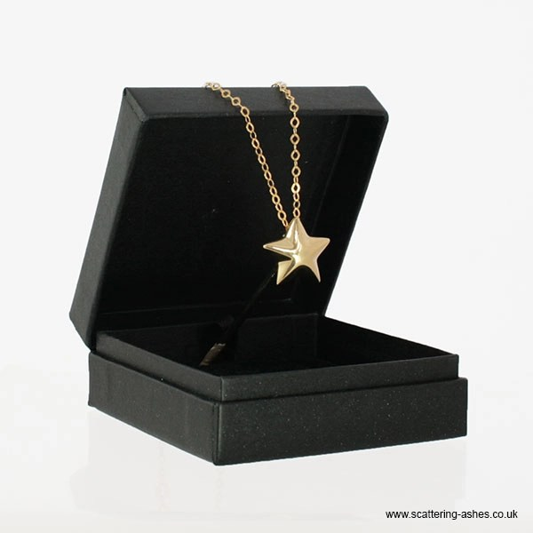 Gold Star Pendant